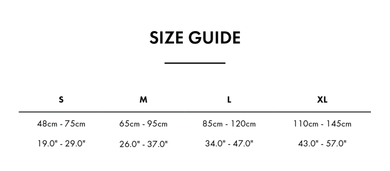 Glucology insulin pump Belt Size Guide