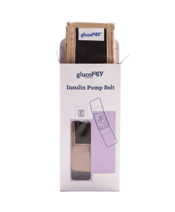 Glucology insulin pump belt nude box
