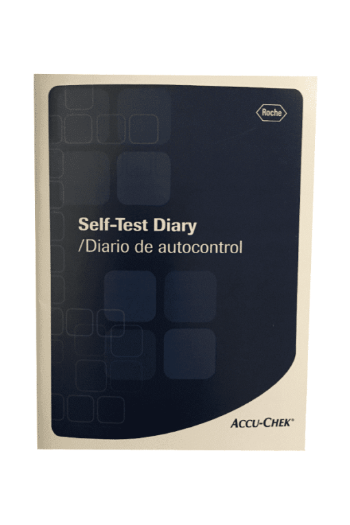 accu-Chek-Self-Test-Diary-Log-book