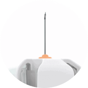 Unifine Safety Control Visible Needle for Control