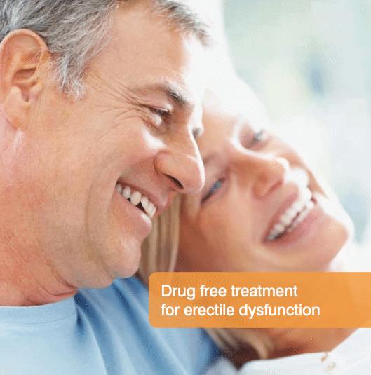 Rapport drug free treatment for erectile dysfunction