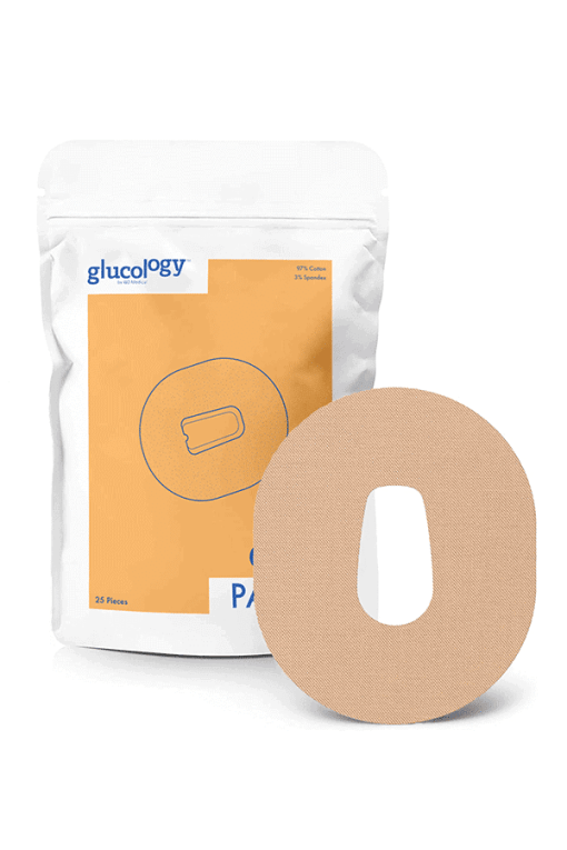 Glucology Dexcom G6 patches beige