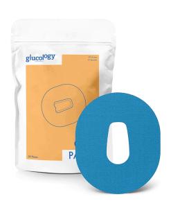 Glucology Dexcom G6 patches blue