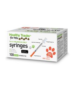 Healthy Tracks Pet Insulin syringe 31g 0.5cc
