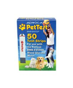 ADVOCATE PETTEST TEST STRIPS 50ct.