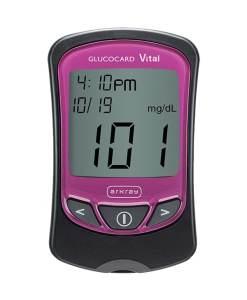 Arkray-GlucoCard-Vital-Glucose-Meter-pink