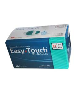 EasyTouch-Insulin-Pen-Needles-100-count-32g-1.4-inch