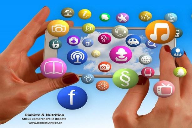 app, diabète, santé
