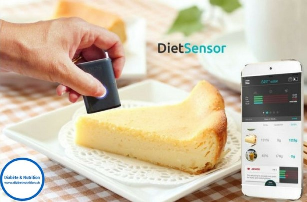 "Le scanner nutritionnel ""DietSensor"""