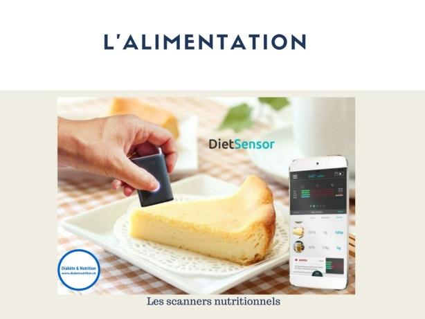 scanner nutritionnel, technologie, diabète, outil, Dietsensor, smartphone