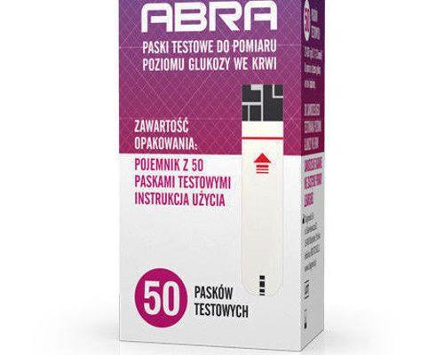 Opakowanie 50 Pasków testowych Abra