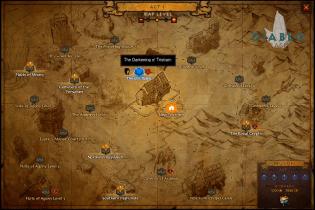 Localização no mapa.