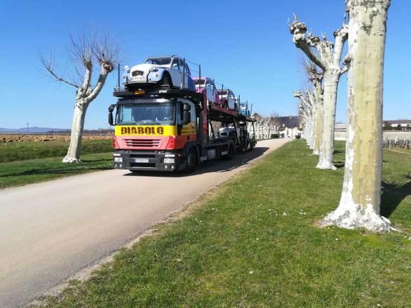 Camion Diabolo 2CV