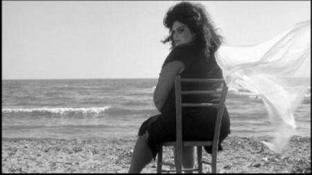 Le personnage de la Saraghina. Fellini, Huit et demi, 1963