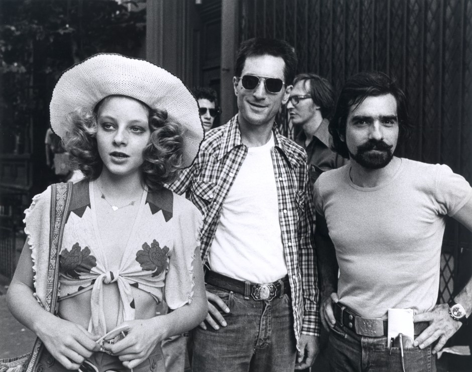 Jodie Foster, Robert De Niro et Martin Scorsese, Taxi Driver, 1976. Martin Scorsese Collection, New York.