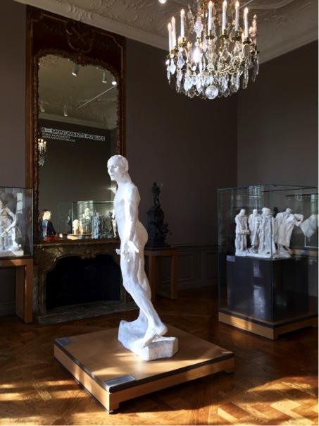 Plâtre, écrins, vitrines et parquets, Musée Rodin © Simona Crippa