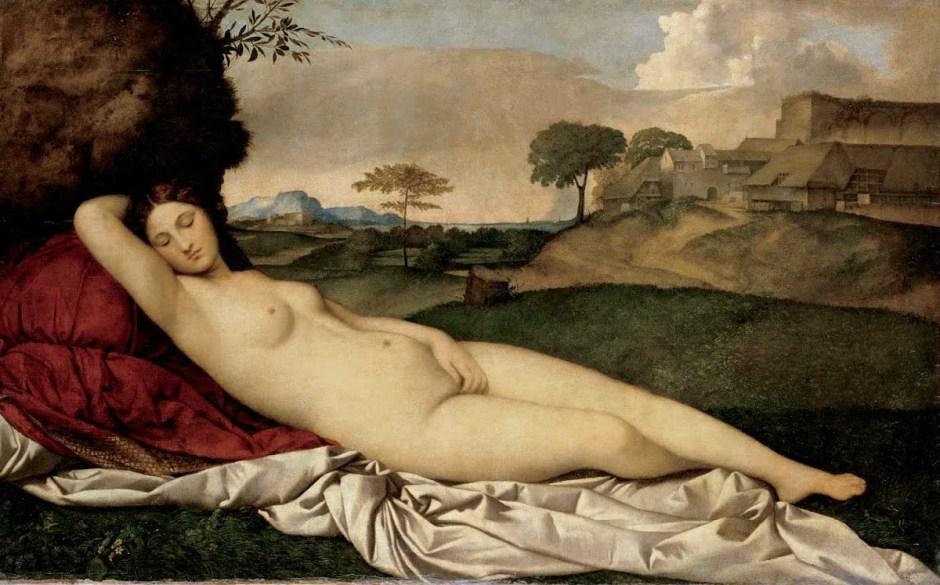 la Vénus endormie de Giorgione