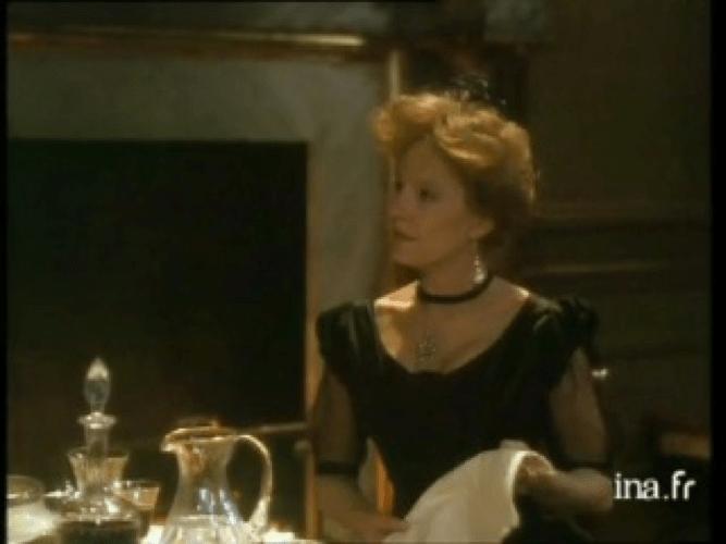 Delphine Seyrig dans La Bête dans la jungle, film de Benoît Jacquot, 1988