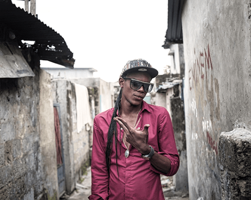 Régis Samba-Kounzi, Daniela, quartier de Bandalungwa, Kinshasa RDC, 2015