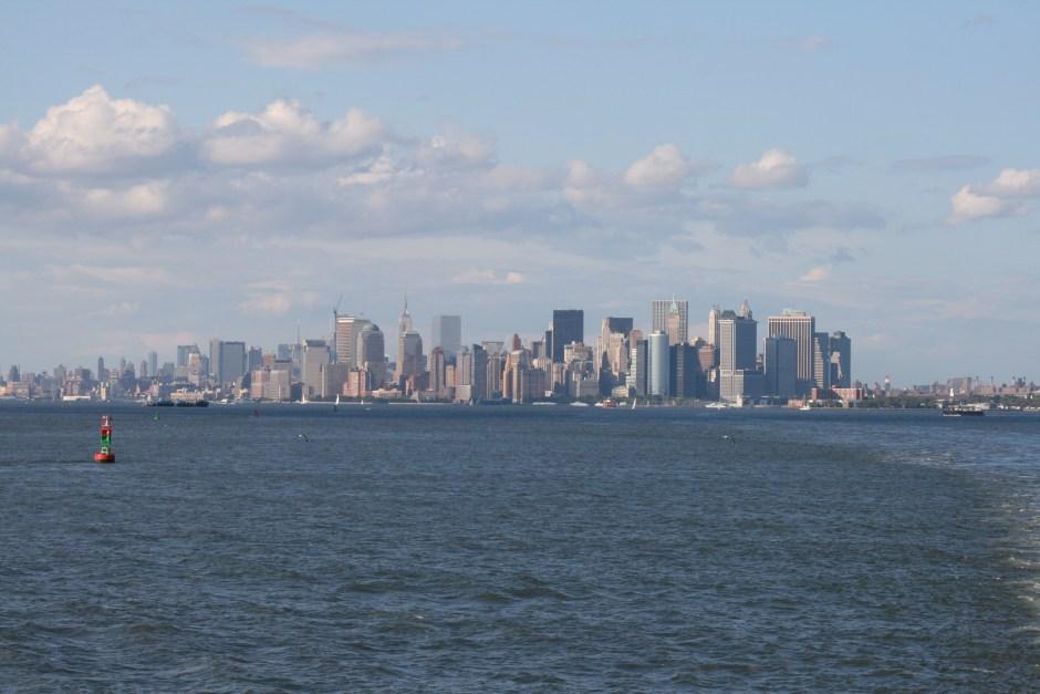 Manhattan depuis Staten Island New York, 2009 © Dominique Bry