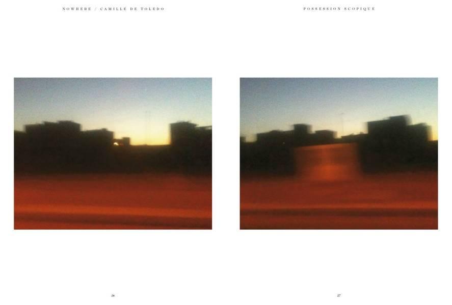Photographies de Camille de Toledo, Nowhere