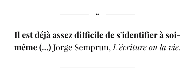 Citation Jorge Semprun
