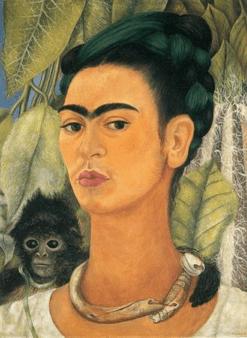 Frida Kahlo, Autoportrait au singe, 1938