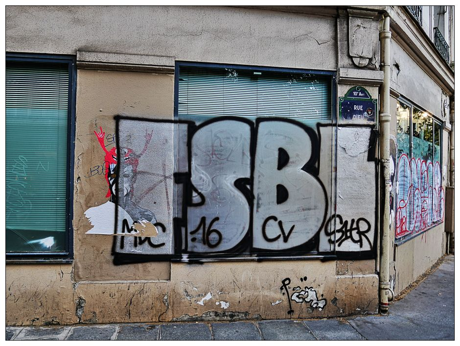 Rue Dieu, Paris © Jean-Philippe Cazier