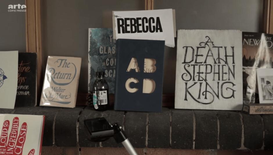 Arte, La sensualité des livres (capture d'écran du documentaire)