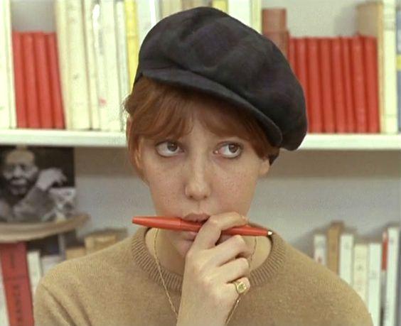 Anne Wiazemsky dans La Chinoise de Jean-Luc Godard
