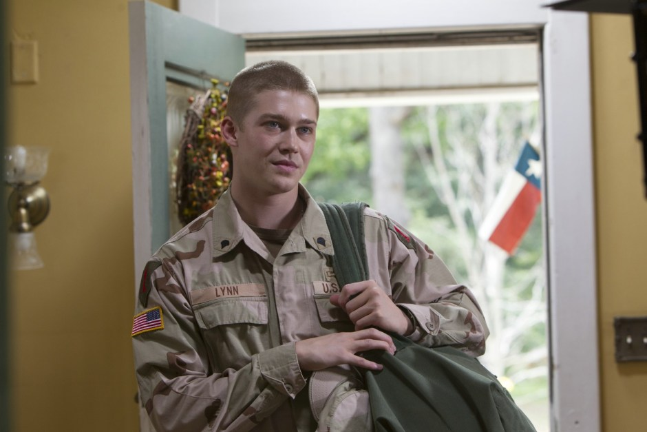 Un jour dans la vie de Billy Lynn, Photo Joe Alwyn, Copyright 2016 Sony Pictures Releasing GmbH