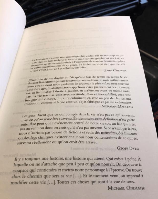 Rodrigo Fresán, La part inventée