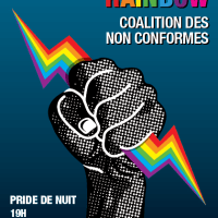 Over the Rainbow, coalition des non-conformes (Pride de nuit 2017)