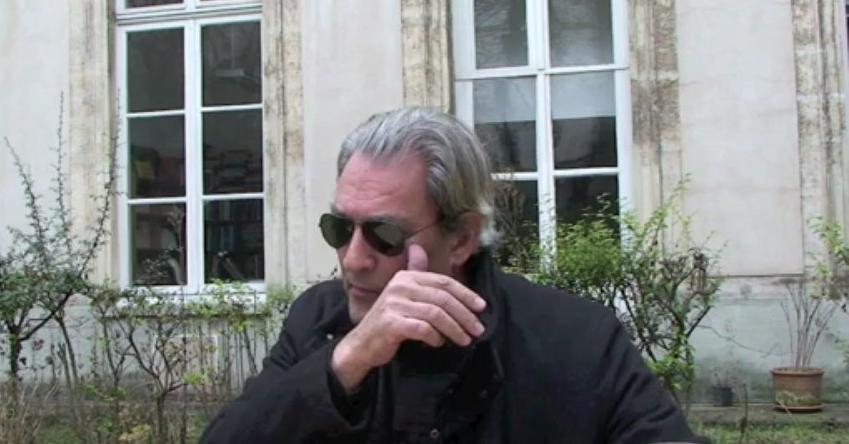 Paul Auster, Paris, 2013 © Christine Marcandier