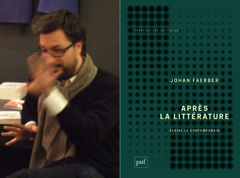 Johan Faerber : «Le contemporain n'est ni une licorne ni un éléphant rose» (Après la littérature)