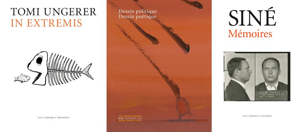 Ungerer, Siné, Pajak, etc. : dernières nouvelles des Éditions Les Cahiers dessinés