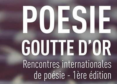 """Festival """"Poésie Goutte d'Or"""""""