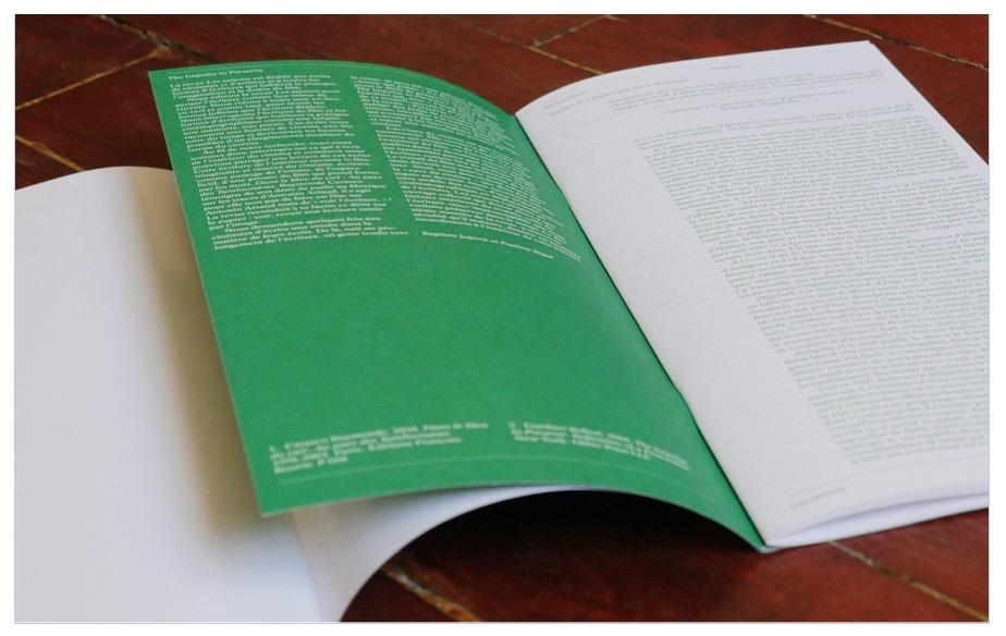 La revue Les Saisons : «Collecter et interroger l'écriture comme matière du film»