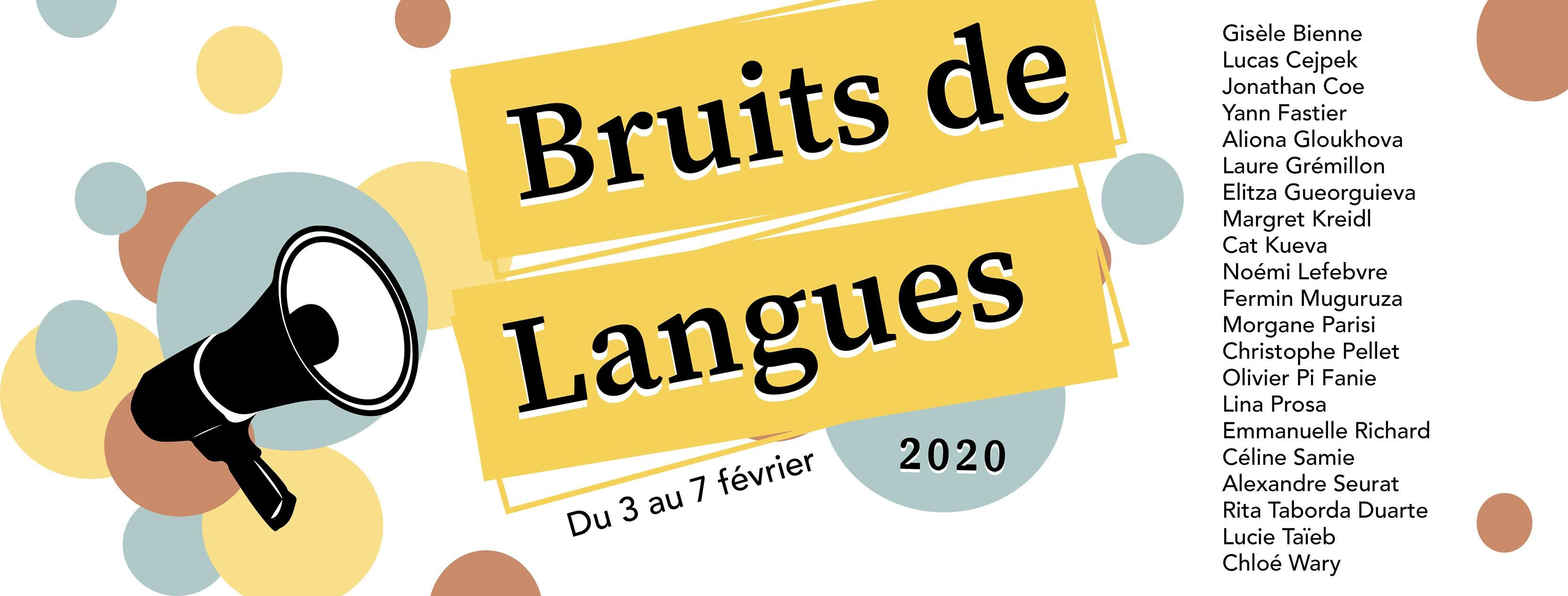 Bruits de langues: déjà dix ans!