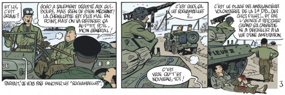 «Petit Hanneton» de Yann et Schwartz : la Rochambelle et la bête