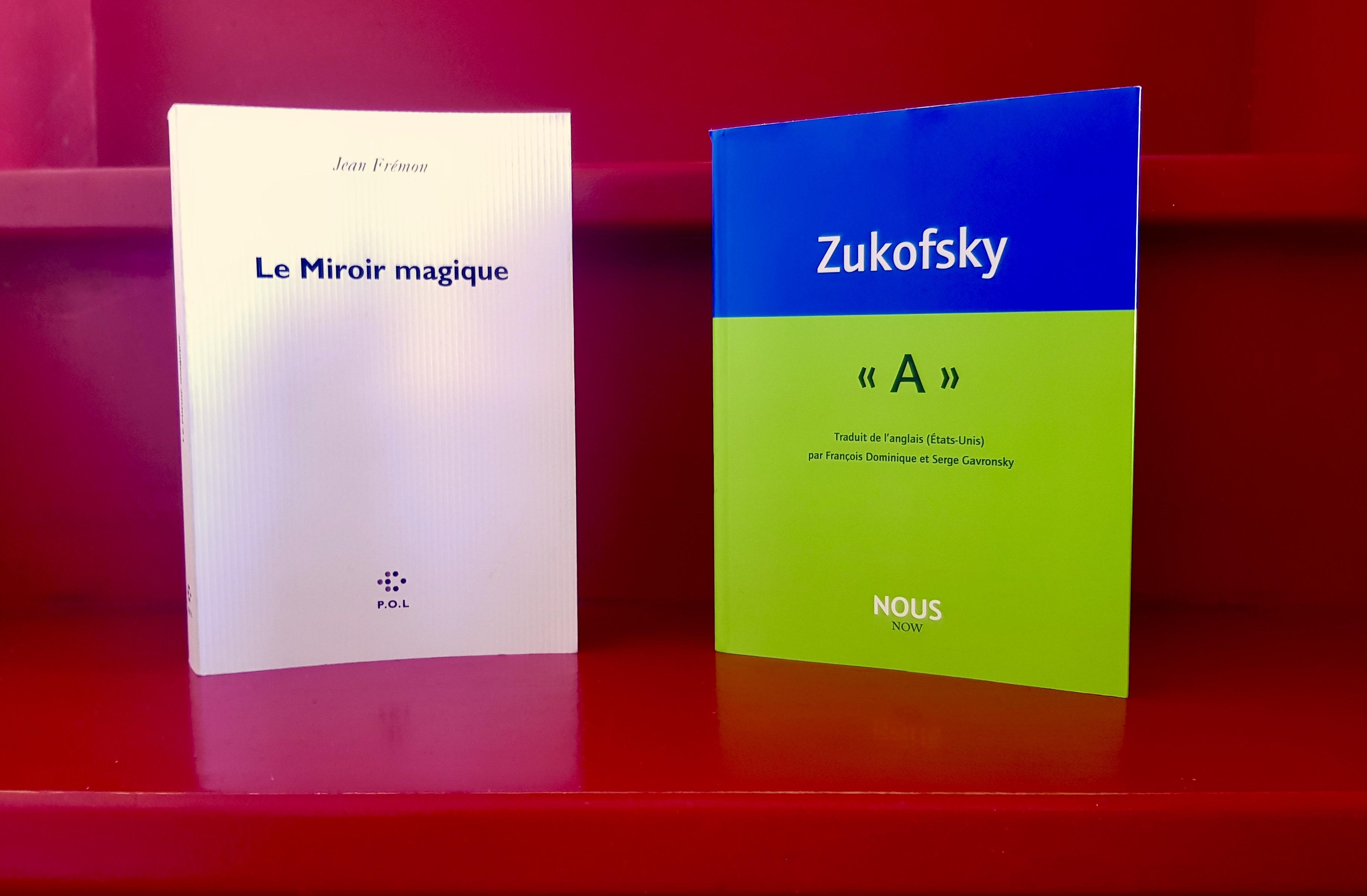 Portrait vivant & poème d'une vie : Jean Frémon et Louis Zukofsky