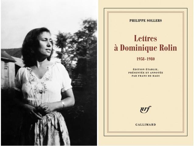 Dominique Rolin: Écrire sans fin (à Philippe Sollers)