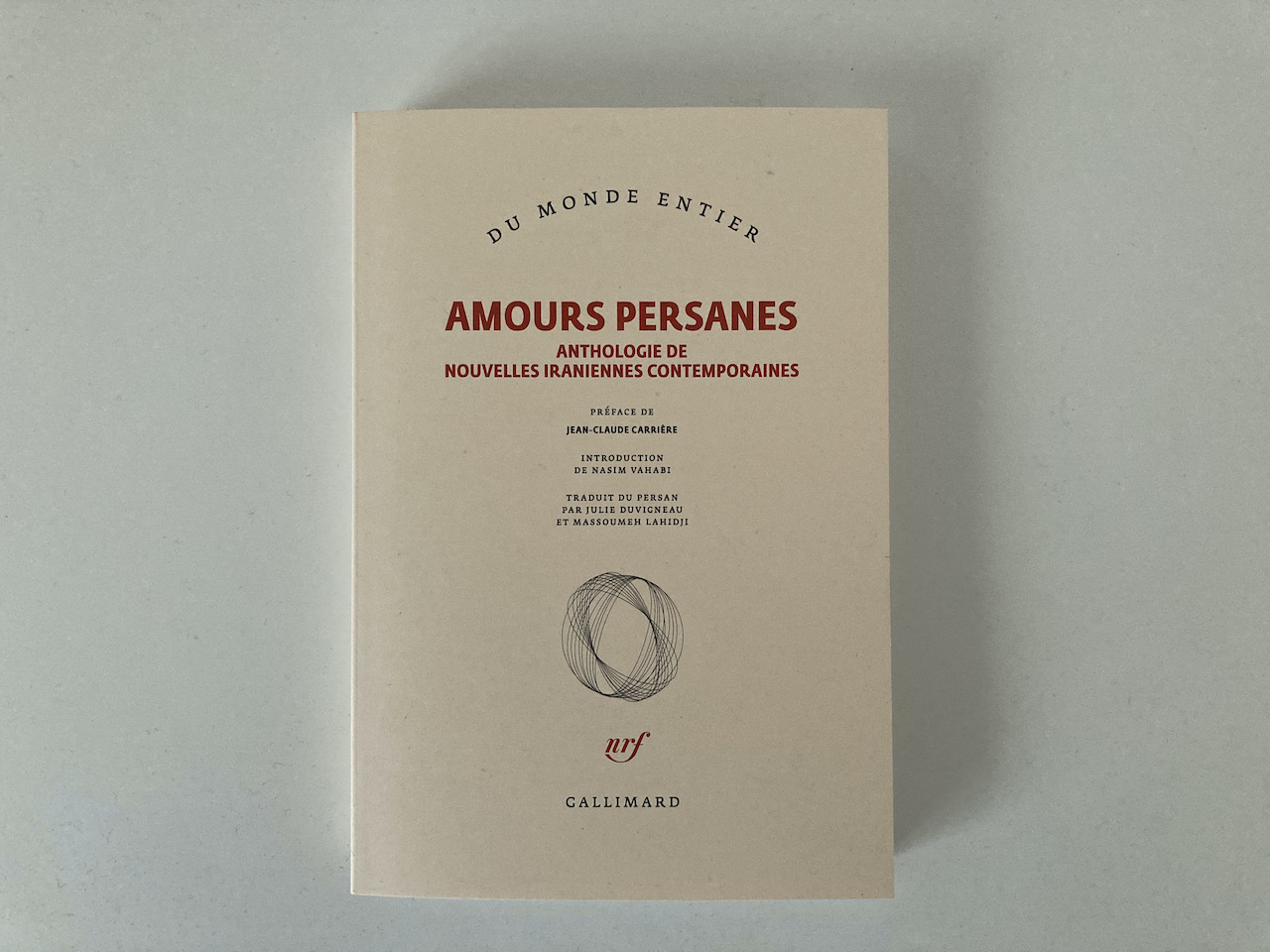 Lectures transversales 8 : Amours persanes