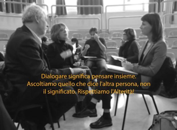 Dialogare è pensare insieme