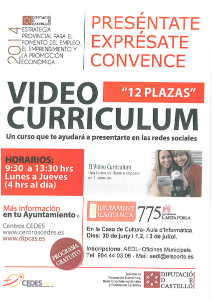 video-curriculum