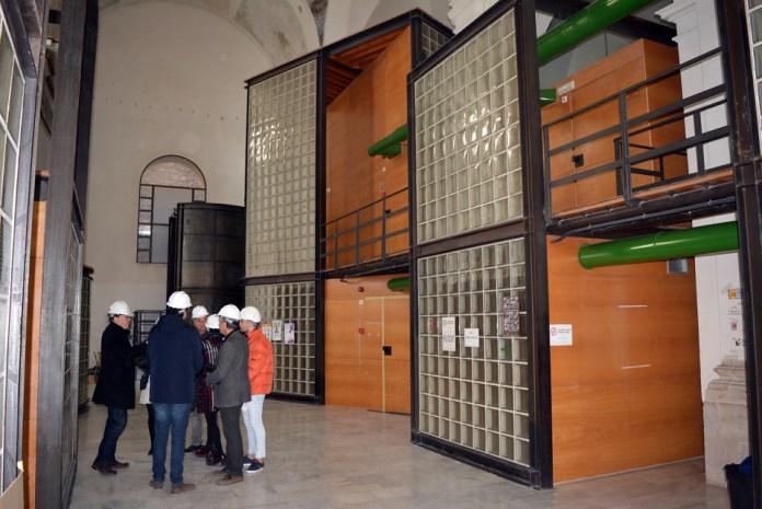 Obres del Centre de Salut de Morella