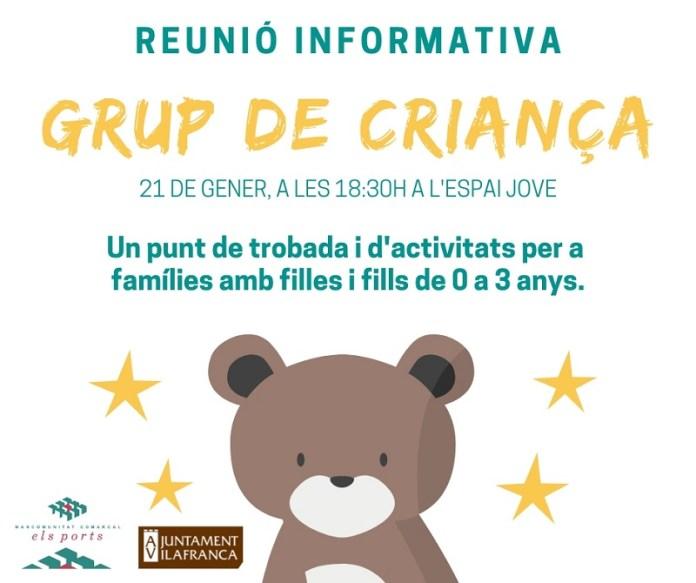 Reunió grup de criança Vilafranca