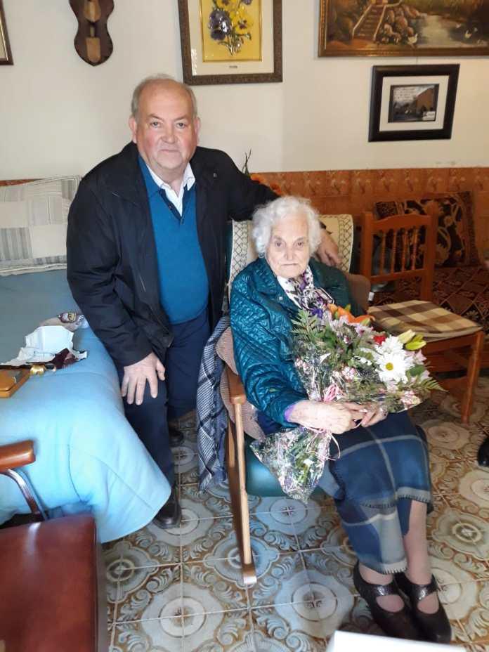 Homenatge a Rosita Ferrando i Segarra en el seu 100 aniversari