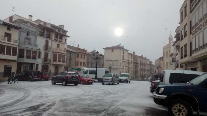 La neu hui a Vilafranca