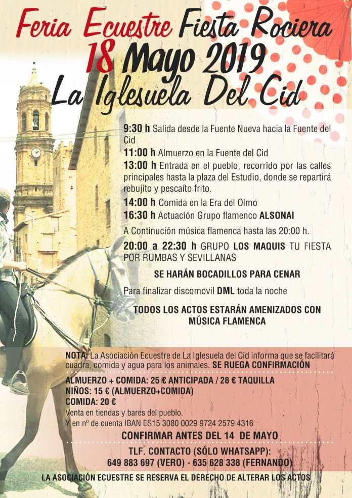 Fiesta rociera en La Iglesuela del Cid